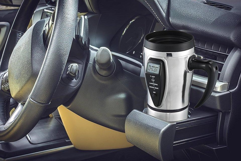 Tech tools smart coffee mug