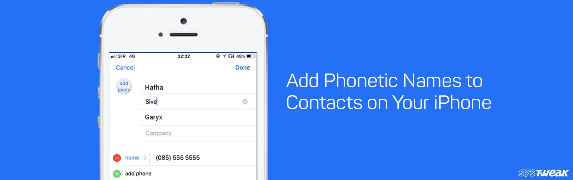 How To Add Phonetic Names to Contacts on Your iPhone