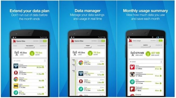 opera max-Data manager
