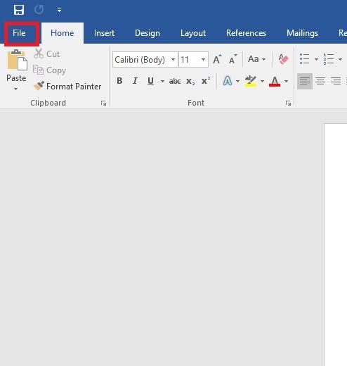 word file