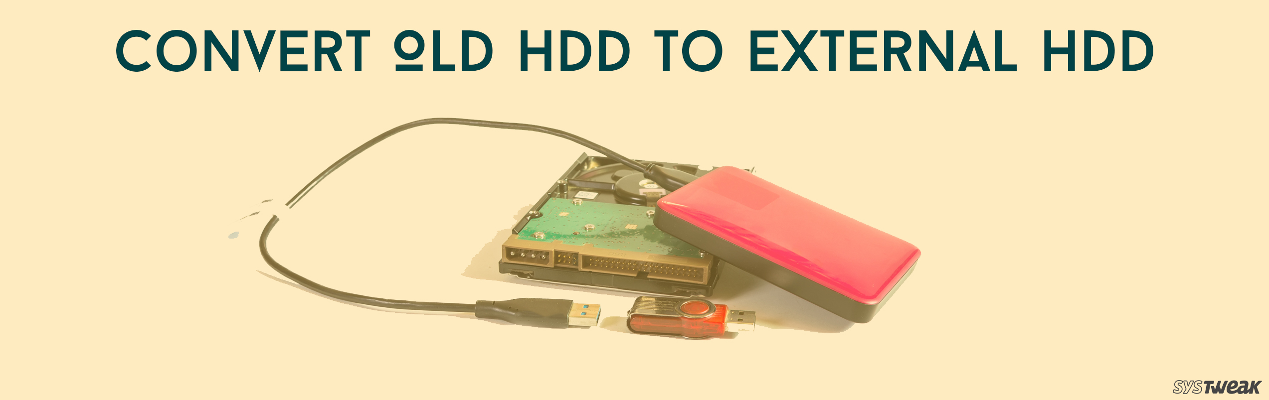 How To Convert Your Old Hard Drive To An External Drive