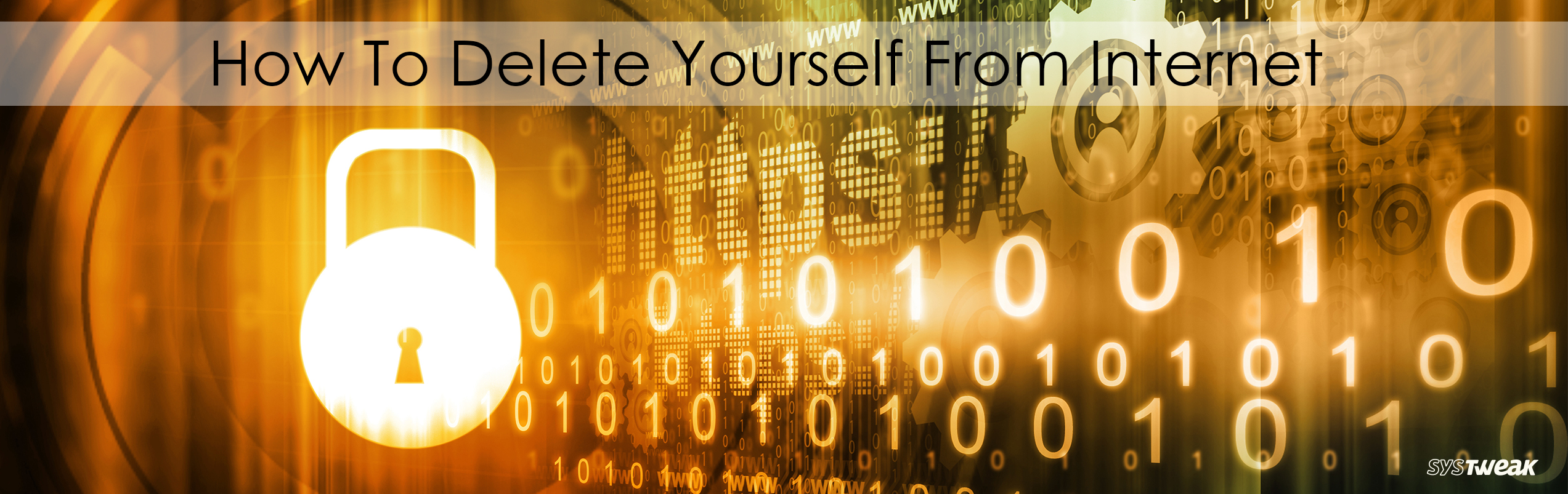 5 Quick Ways to Delete Your Online Identity