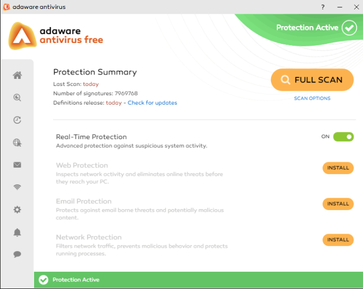 Adaware- spyware remover software