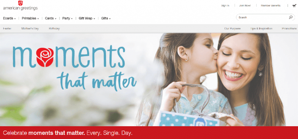 American greetings-ecard making sites