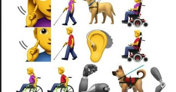Apple Proposes 13 New Emojis That Represent People With Disabilities