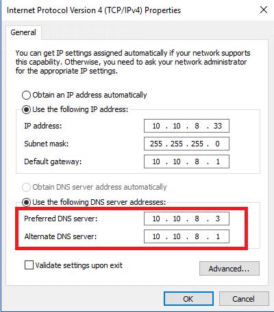 DNS 10