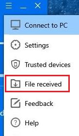 Data Sharing Between Two Laptops Using SHAREit 8