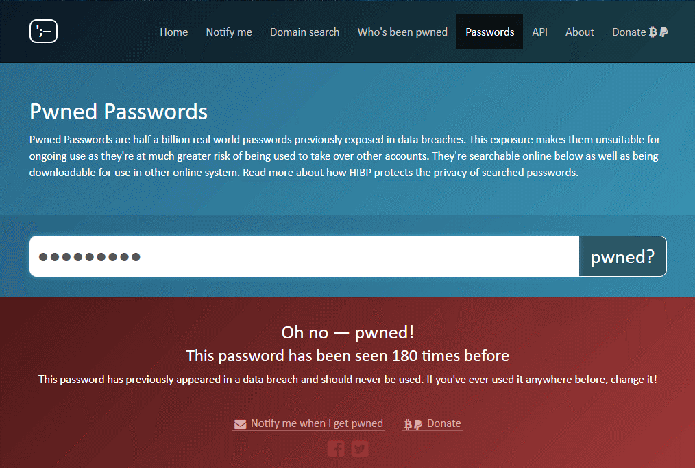 Get Help from Have I Been Pwned 3