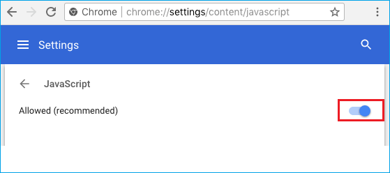How To Enable JavaScript In Google Chrome - 4