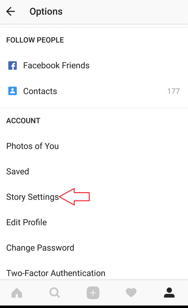 How to share Instagram stories automatically on Facebook profile 3