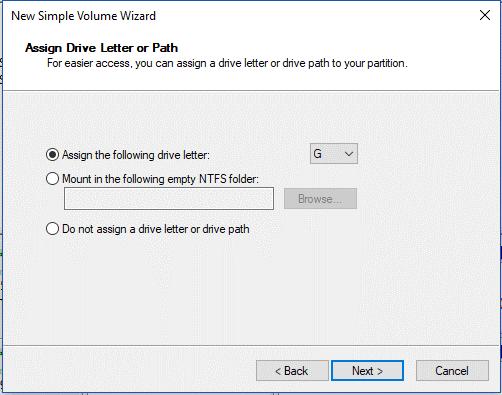NTFS folder