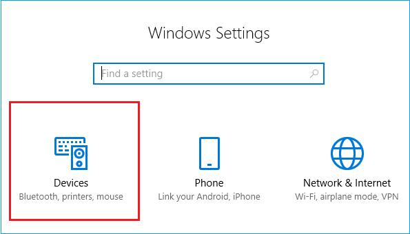 device in windows 10