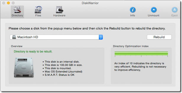 diskwarrior for mac