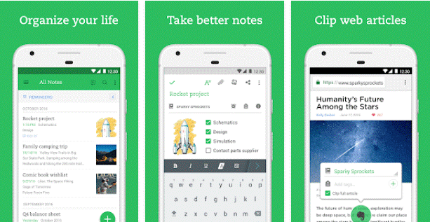 evernote for android