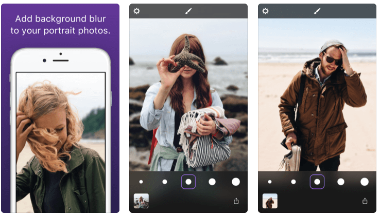 forefocus portrait mode app for iphone