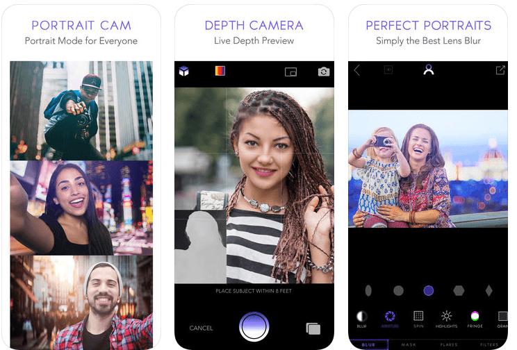 portrait mode cam app