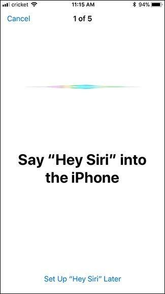 say hey siri