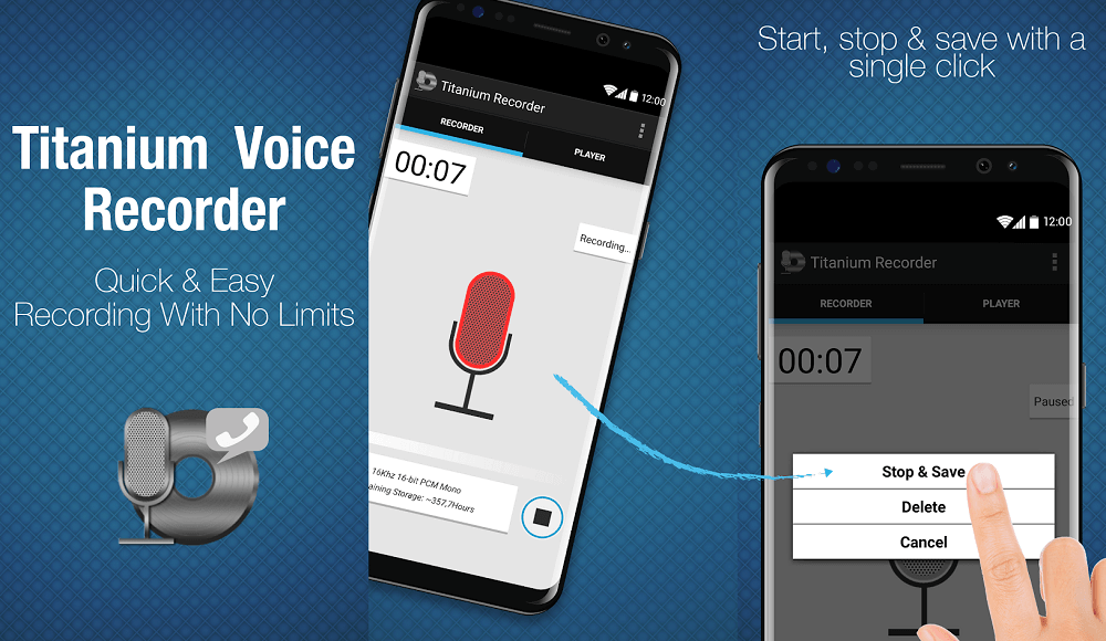 Top 10 Best Voice Recorder Apps for Android | Free Voice