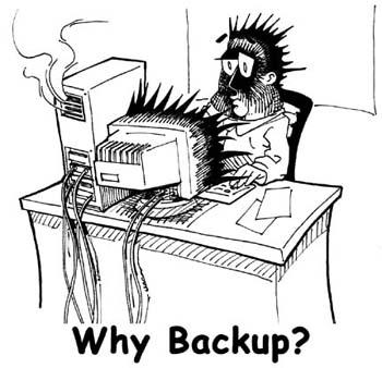 why backup