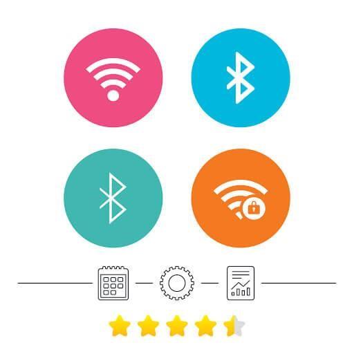 wifi bluetooth turned on
