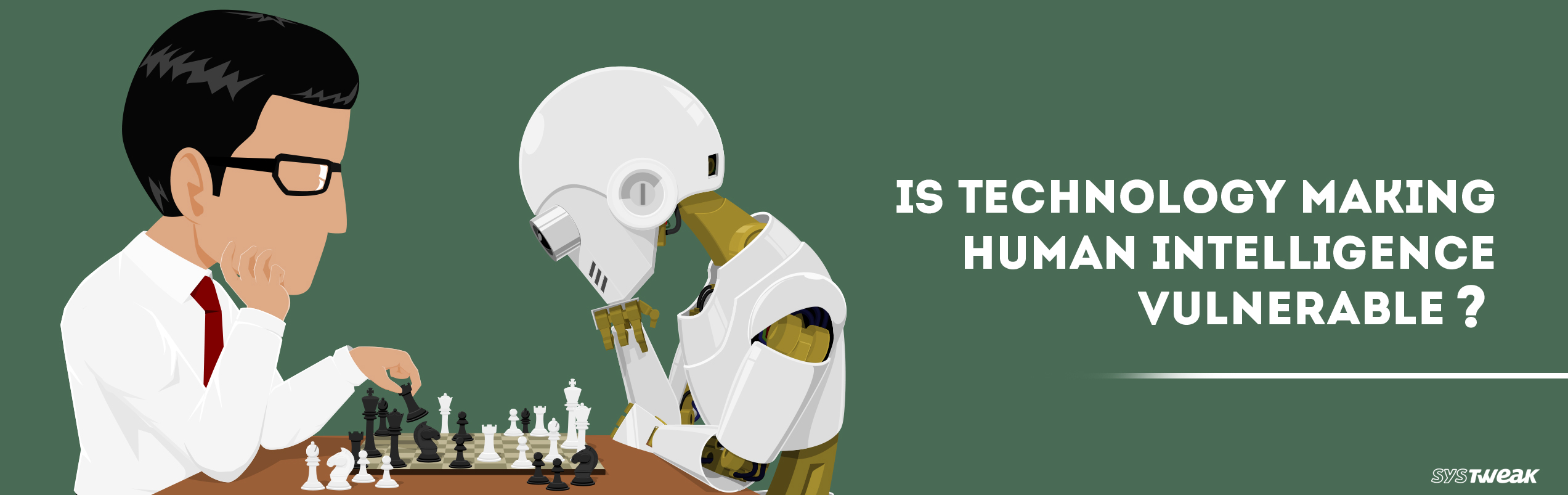 Has Technology Become A Threat To Human Intelligence?