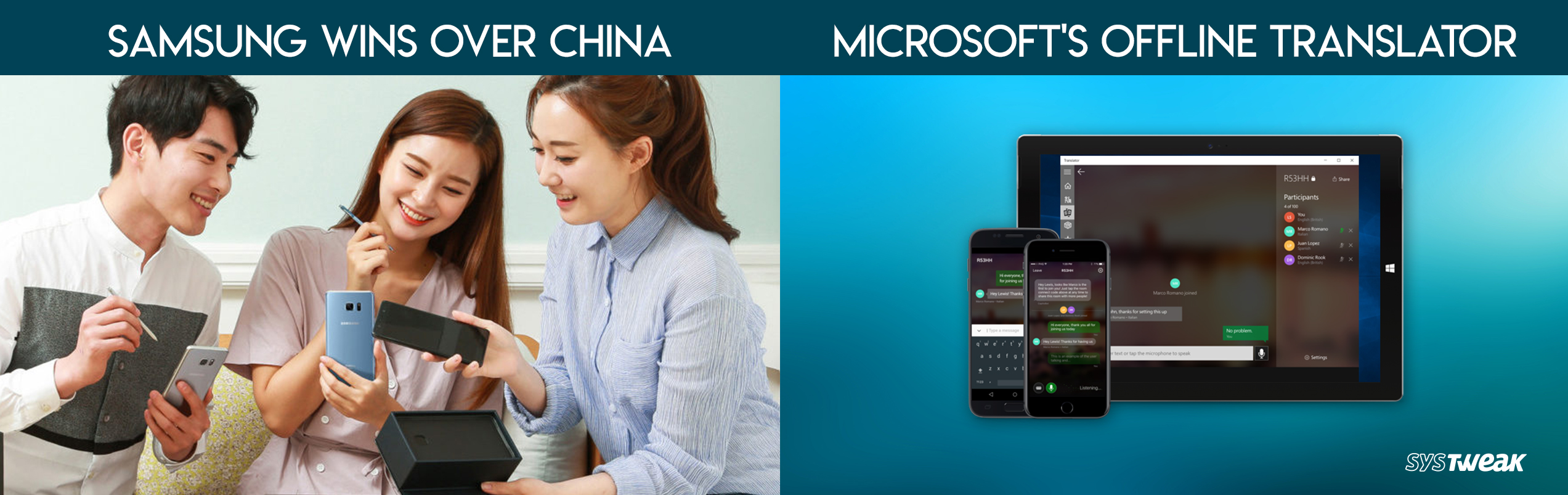 Newsletter : Samsung Can Now Sell Phones In China & Microsoft Translator Available Offline For All