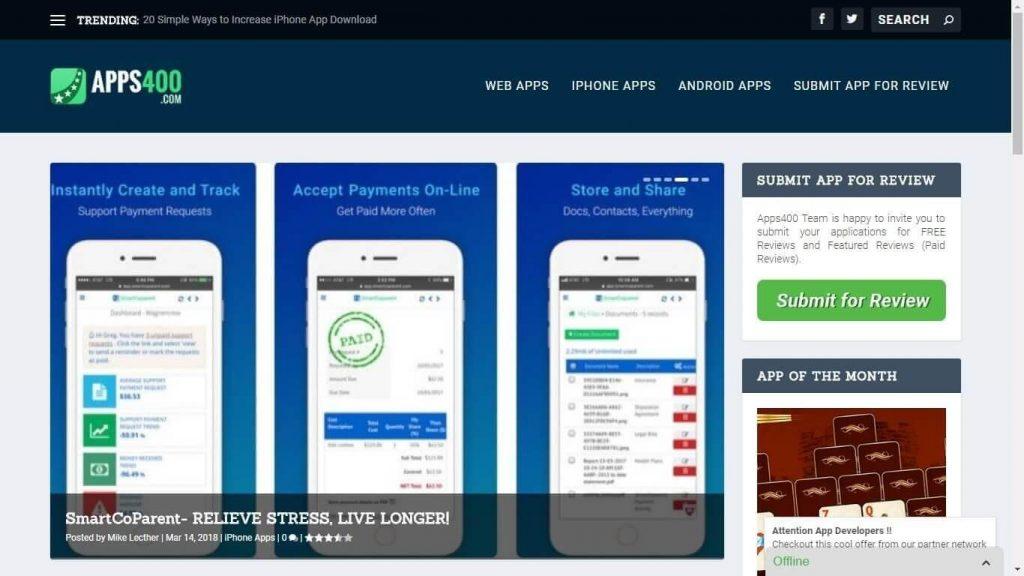 Apps 400.com