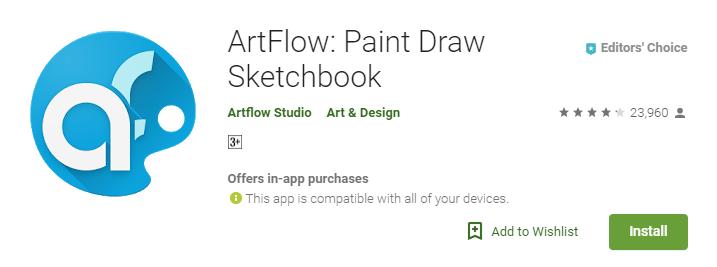 ArtFlow Paint Draw Sketchbook