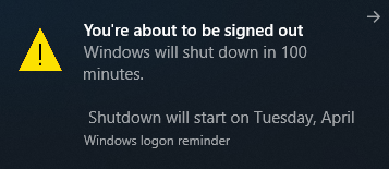 Auto Shutdown Timer via Command Prompt step -3