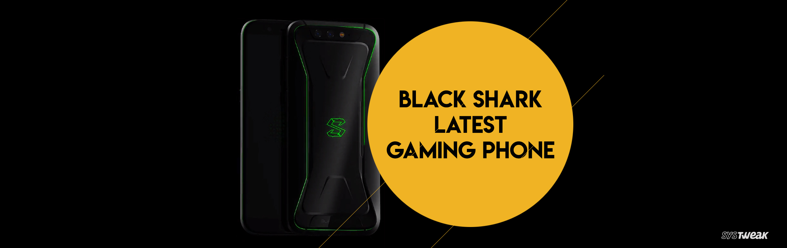 Gaming Phone: Black Shark by Xiaomi