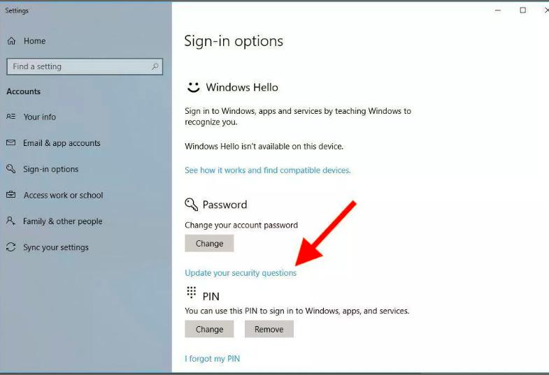 Enhanced Password Recovery