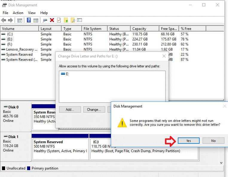 Hide Drive Using Disk Management Tool 5