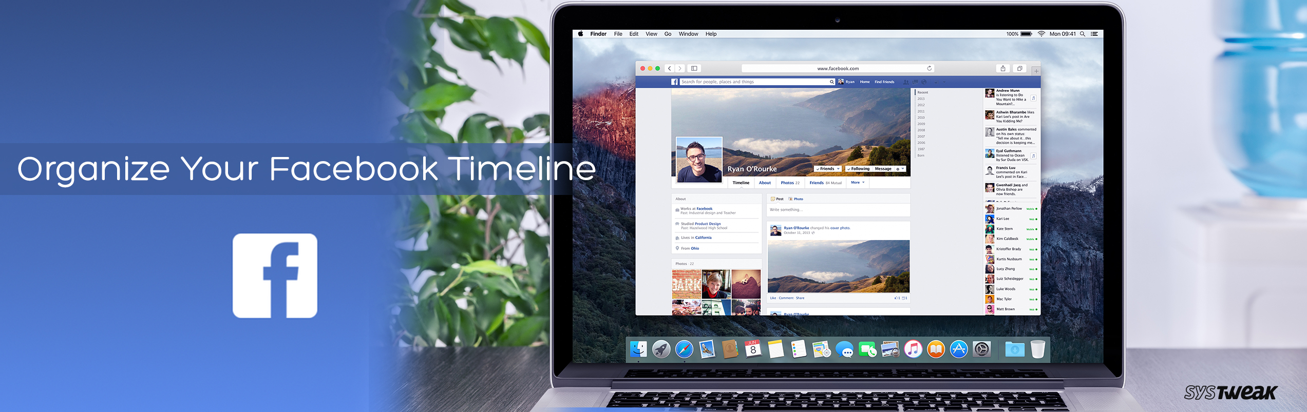 How To Organize Your Facebook Timeline