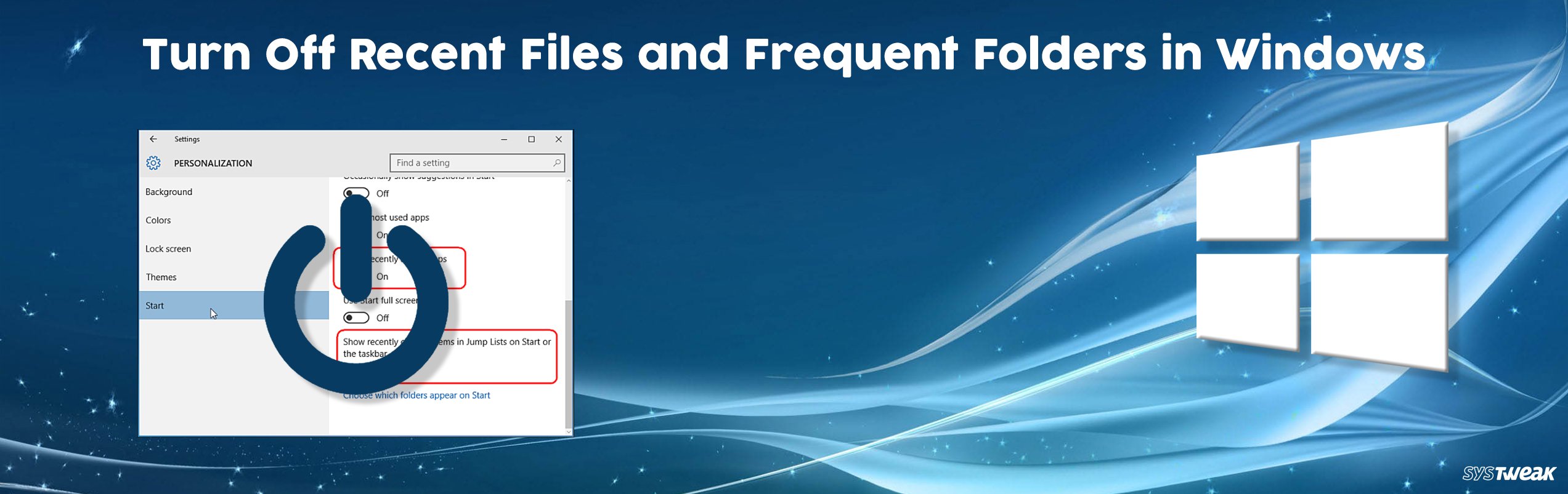 How to Turn Off Recent Files and Frequent Folders in Windows 10