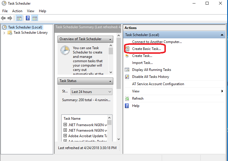 Make a Basic Task Named Shutdown step-3