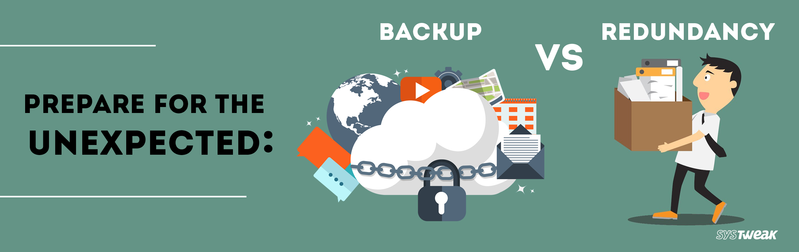 Backup Vs Redundancy: What will you choose?