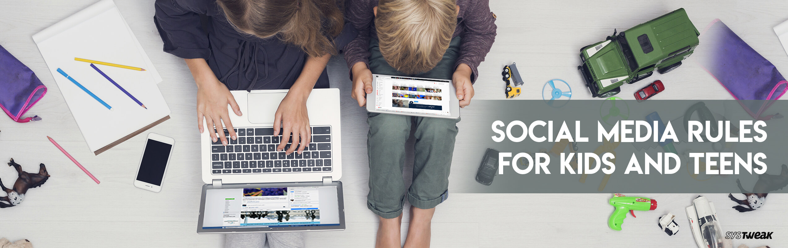 Social Media Rules for Kids and Teens for their Safety, Privacy and Security