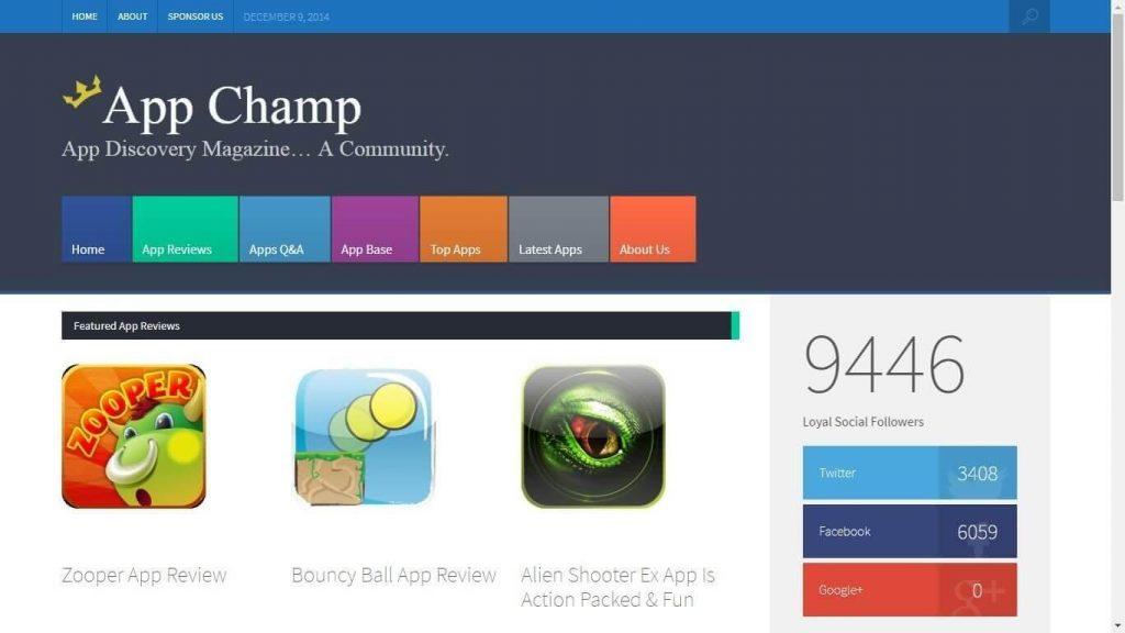 The app champ.com