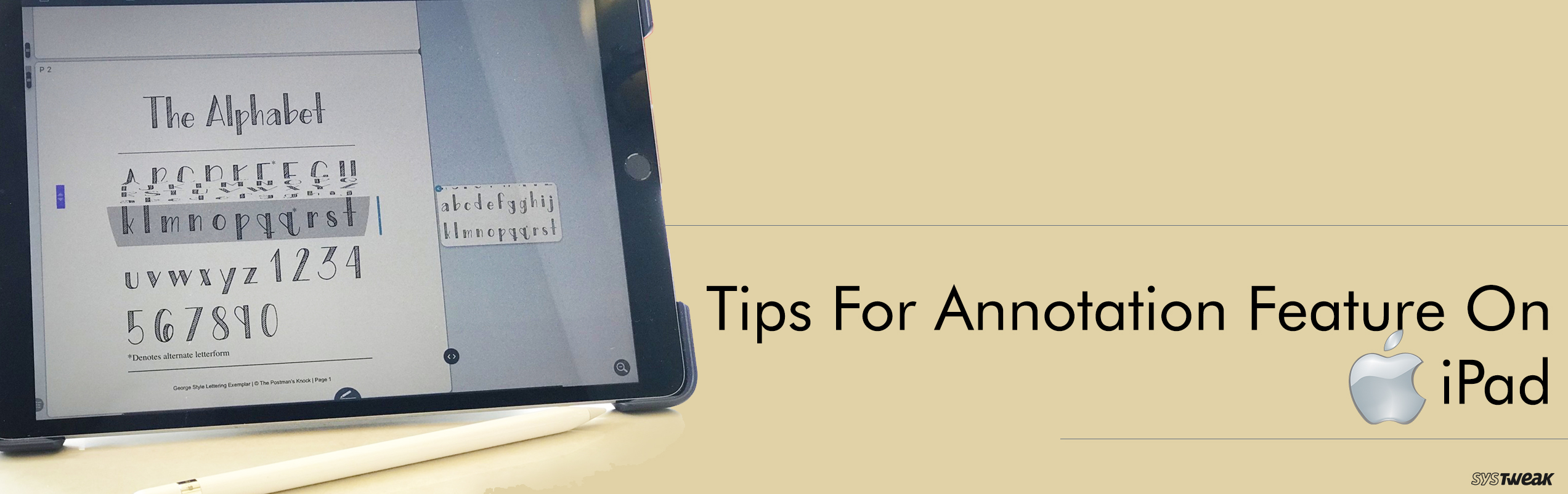 Do You Know About The Smart Annotation On iPad?