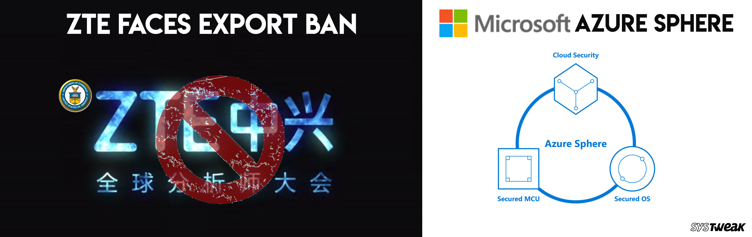 Newsletter: US Bans Home Companies to Export Stuff To ZTE & Microsoft Launches Azure Sphere