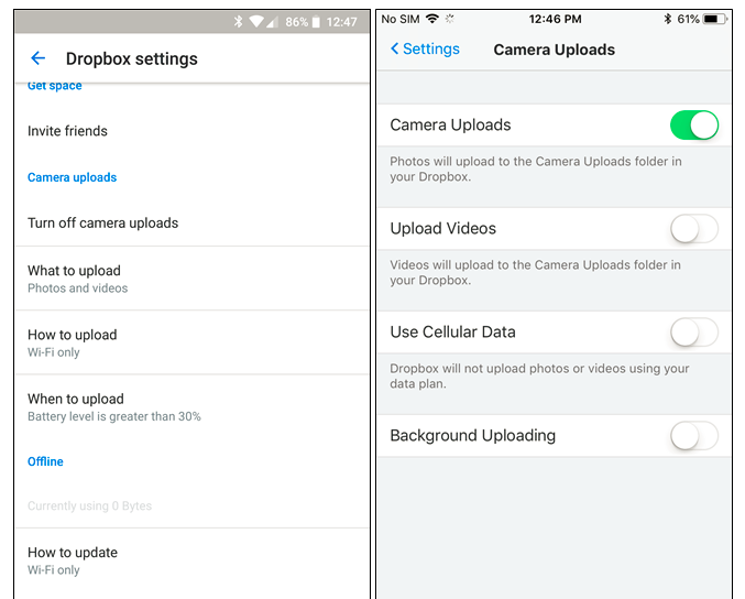 Useful Solutions to Automatic Backup Your Photos from Smartphone for dropbox