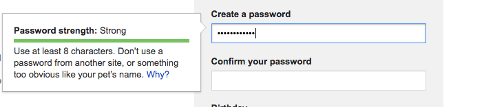 create a strong amazon password