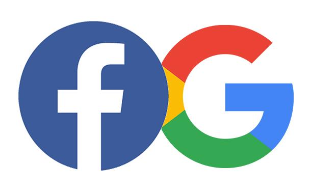 facebook and google revenue