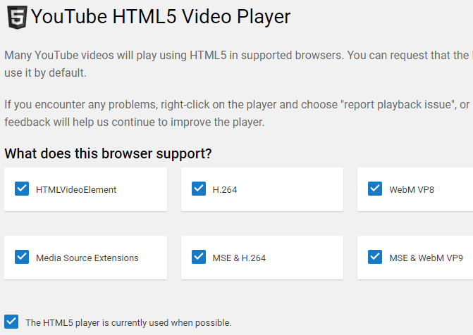 youtube html 5 viewer