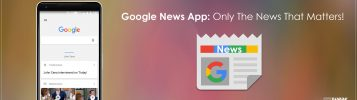 Say Hello To Google News App!