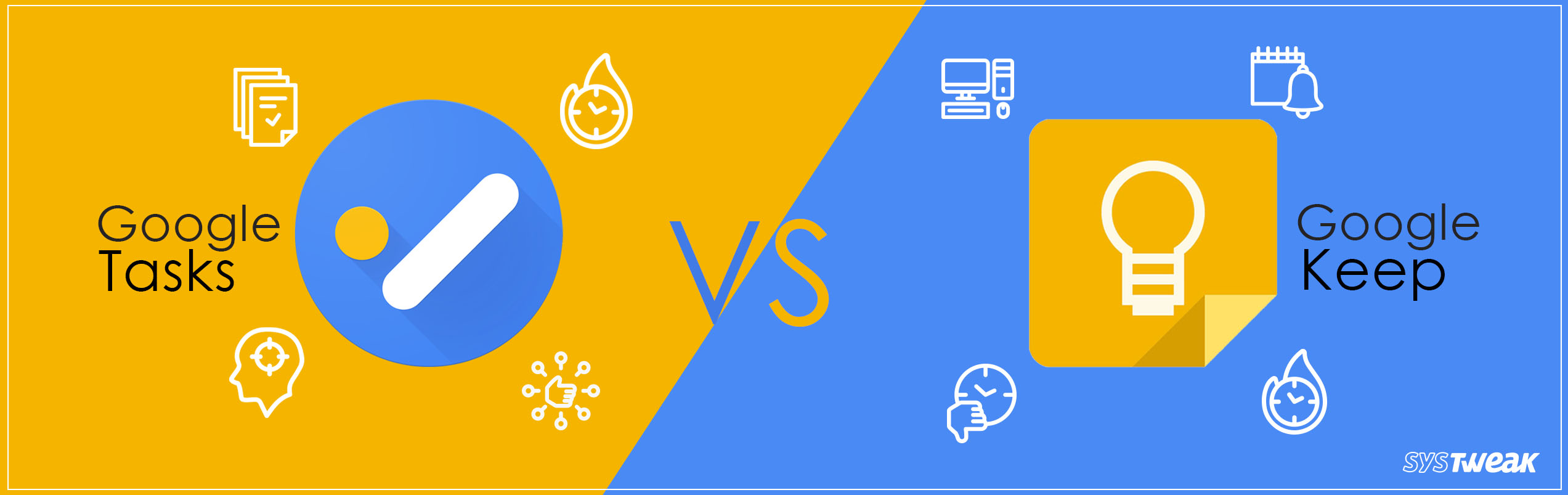 Google Tasks vs Google Keep