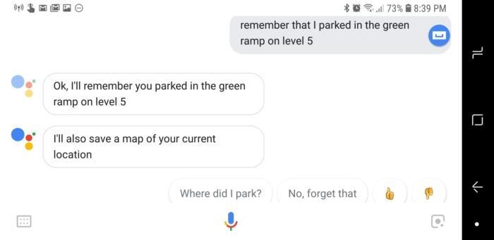 Let Google Remember Things