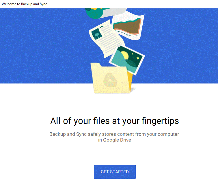 Backup Your Computer Data to Google Drive 3