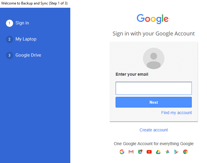 Backup Your Computer Data to Google Drive 4