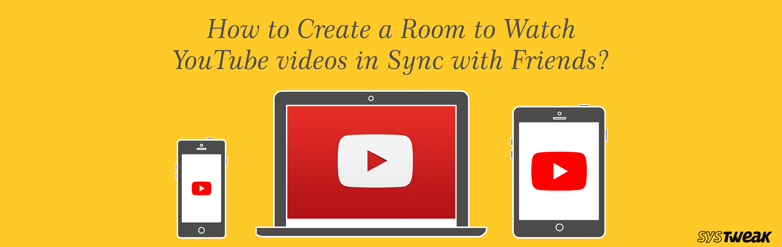 How to Create a Room to Watch YouTube videos in Sync with Friends